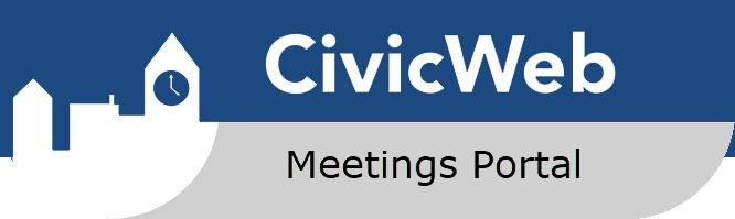 CivicWeb Portal button